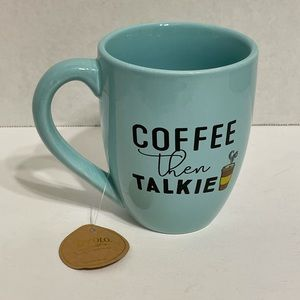 NWT Coffee Then Talkie Mug